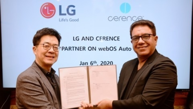 LG전자, 미국 쎄렌스와 webOS Auto 기반 차량용 인포테인먼트 공동개발