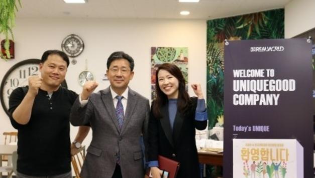박양우 장관, 유니크굿컴퍼니 방문… 문화관광산업계의 유니콘기업으로 성장 기대