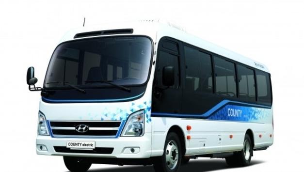 현대자동차, 중형 전기 버스 '카운티 일렉트릭' 출시