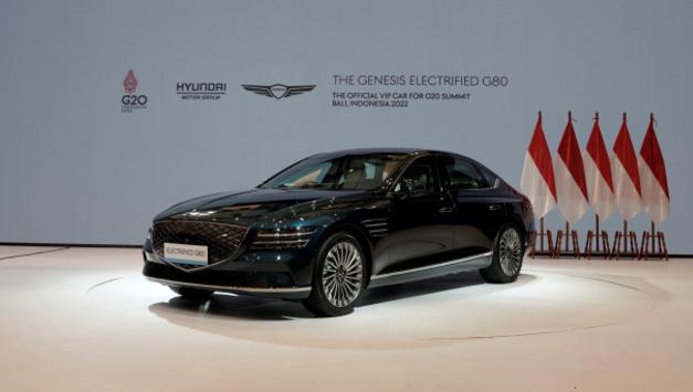 제네시스 G80 전동화 모델, G20 발리 정상회의 공식 VIP 차량 선정